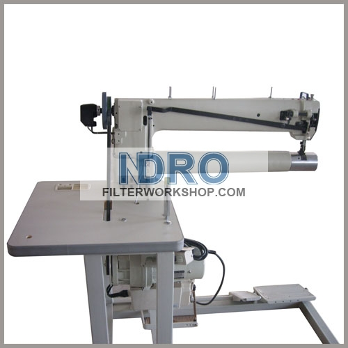 filter bag support ring sewing machine