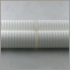 Pleated filter cartridge length (connecting) joints welder